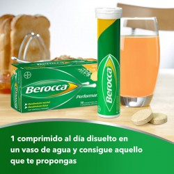 BEROCCA Performance Mango 30 Comprimidos Efervescentes