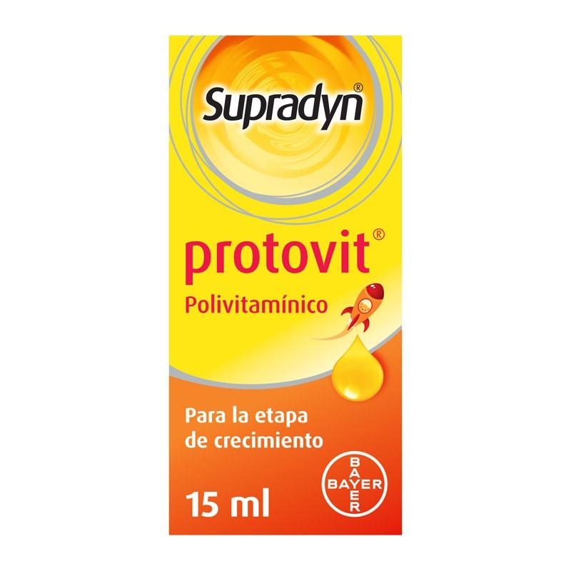SYPRADYN PROTOVIT Vitaminas Minerales Crecimiento Niños edad Pediátrica 15ml