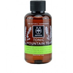 Apivita Gel de Baño Tonic Mountain Tea 75ml