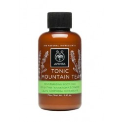 Apivita Leche Corporal Hidratante Tonic Mountain Tea 75ml