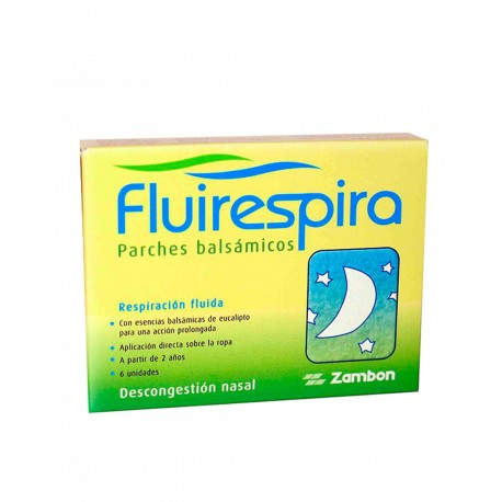 FLUIRESPIRA 6 Parches