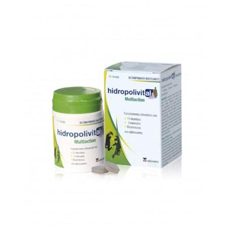 HIDROPOLIVITAL Multiaccion Masticable 30 Comprimidos