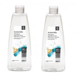 SUAVINEX Pack Ahorro Detergente para Biberones y Tetinas 2x500ml
