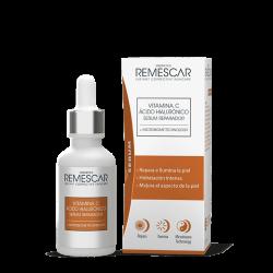 REMESCAR Sérum Reparador con Vitamina C y Ácido Hialurónico 30ml