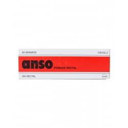 ANSO POMADA RECTAL 50 G