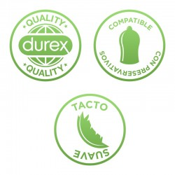 DUREX Naturals Gel Duplo Lubricante Íntimo Pure 100% Natural 2x100ml