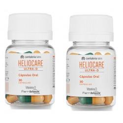 HELIOCARE Oral Ultra-D Cápsulas Duplo 60 Cápsulas (2x30)