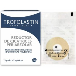 TROFOLASTIN Reductor de Cicatrices Periareolar 3x2 parches