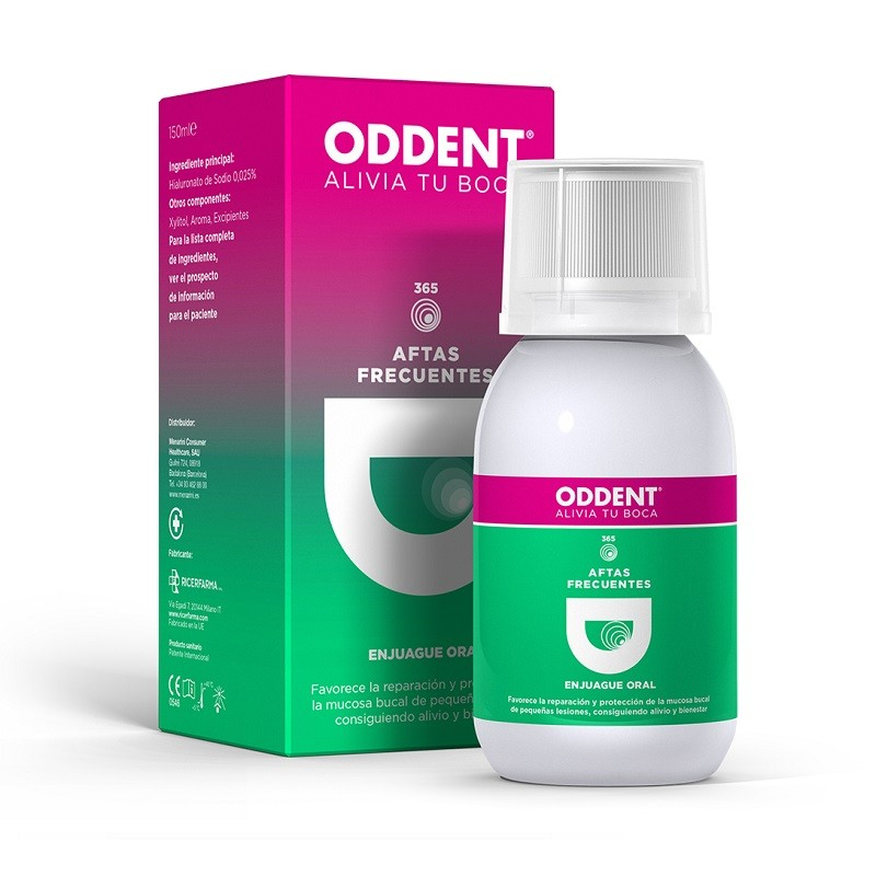 ODDENT Enjuague Bucal Aftas Frecuentes 150ml