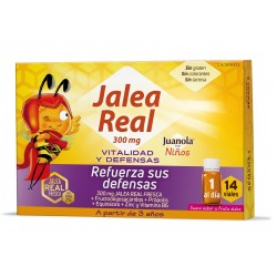 JUANOLA Jalea Real Niños Vitalidad y Defensas 14 Viales de 10ml