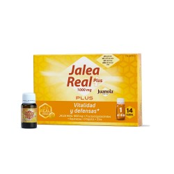 JUANOLA Jalea Real Plus Vitalidad y Defensas 14 viales de 10ml