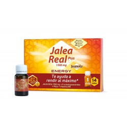 JUANOLA Jalea Real Energy Plus Vitalidad y Defensas 14 viales de 10ml