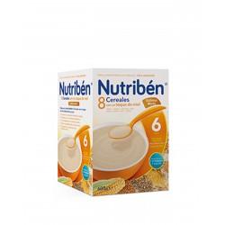 NUTRIBÉN 8 Cereales Toque de Miel y Galletas Maria 600G