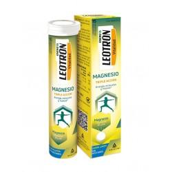 LEOTRON Magnesio Triple Acción 15 Comprimidos Efervescentes