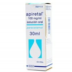 APIRETAL 100mg/ml Solucion Oral 30ML