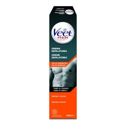 VEET Men Crema Depilatoria Pieles Normales Cuerpo 200ml