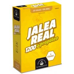 JALEA REAL con Propóleo Adultos 1200+ El Naturalista 20 viales