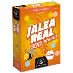 JALEA REAL con Propóleo Infantil 300 El Naturalista 20 viales