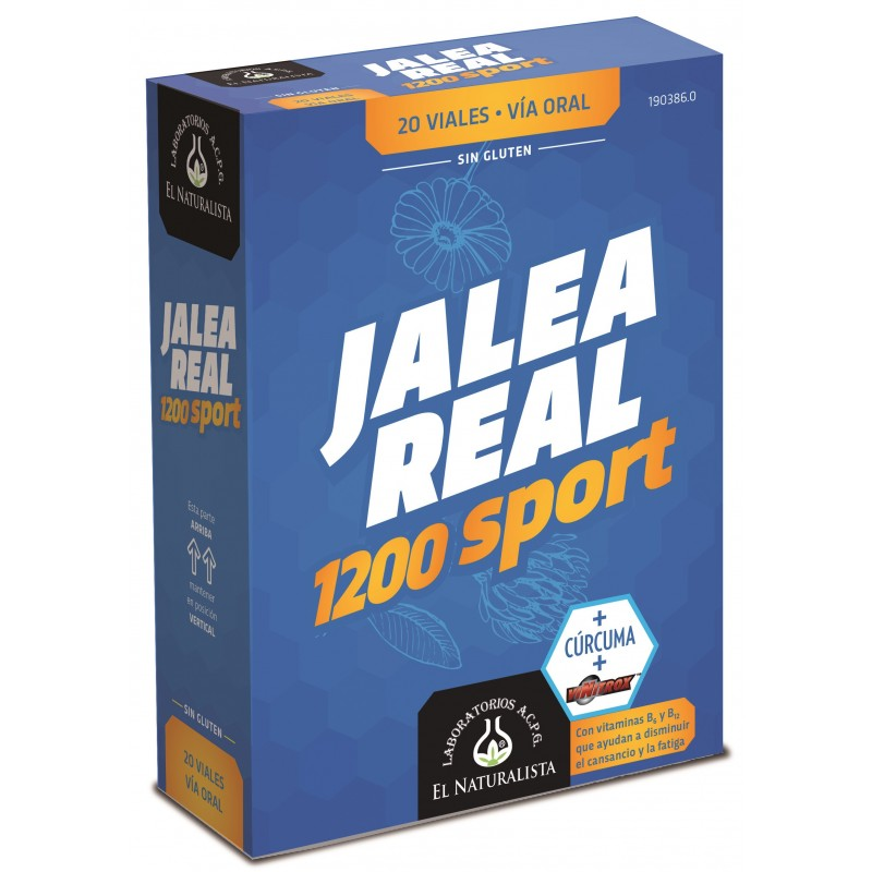 JALEA REAL Sport 1200 El Naturalista 20 viales