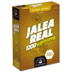 JALEA REAL con Ginseng 1200 El Naturalista 20 viales