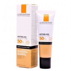 ANTHELIOS Mineral One SPF50+ Crema Facial con Color Tono 2 Medio 30ml