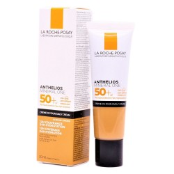 ANTHELIOS Mineral One SPF50+ Crema Facial con Color Tono 4 Brown 30ml