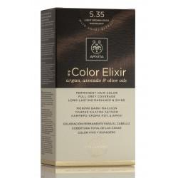 APIVITA My Color Elixir Tinte Castaño Claro Dorado Caoba Nº 5.35