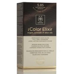 APIVITA Tinte 5.85 Castaño Claro Perlado Caoba My Color Elixir