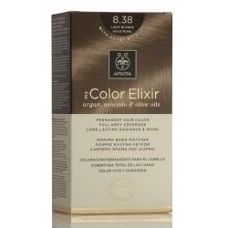 APIVITA Tinte 8.38 Rubio Claro Dorado Perlado My Color Elixir