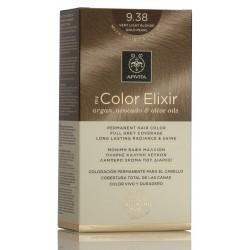 APIVITA Tinte 9.38 Rubio muy Claro Dorado Perlado My Color Elixir