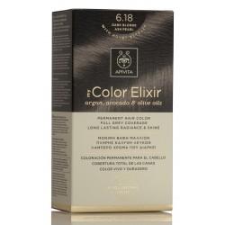 APIVITA My Color Elixir Tinte Rubio Oscuro Ceniza Perlado Nº 6.18