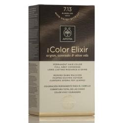 APIVITA Tinte 7.13 Rubio Ceniza Dorado My Color Elixir
