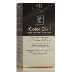 APIVITA Tinte 4.20 Castaño Violeta My Color Elixir