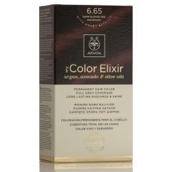APIVITA Tinte 6.65 Rubio Oscuro Caoba My Color Elixir