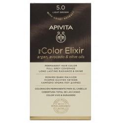 APIVITA My Color Elixir Tinte Castaño Claro Nº 5.0