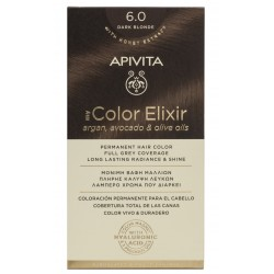 APIVITA Tinte 6.0 Rubio Oscuro My Color Elixir