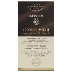 APIVITA My Color Elixir Tinte Rubio Oscuro Dorado Caoba Nº 6.35