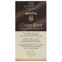 APIVITA My Color Elixir Tinte Rubio Dorado Caoba Nº 7.35