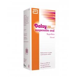 DALSY 20 MG/ML SUSPENSION ORAL 200 ML