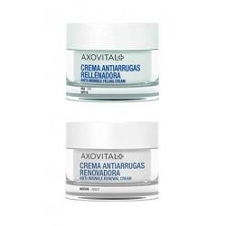 AXOVITAL PACK Antiarrugas Crema Día 50ml + Crema de Noche 50ml