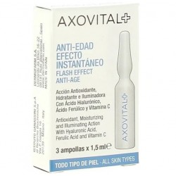 AXOVITAL Ampollas Flash Anti-Edad 3uds x 1,5ml