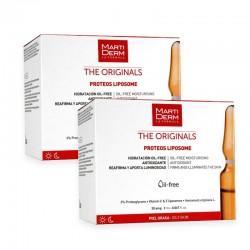 MARTIDERM Proteo Liposomas Duplo 2x30 Ampollas