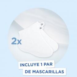 SCHOLL PediMask Mascarilla Nutritiva de Pies 1 Par Mascarilla-Calcetín