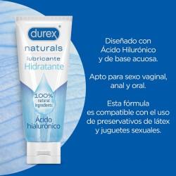 DUREX Naturals Lubricante Hidratante Ácido Hialurónico 100ml