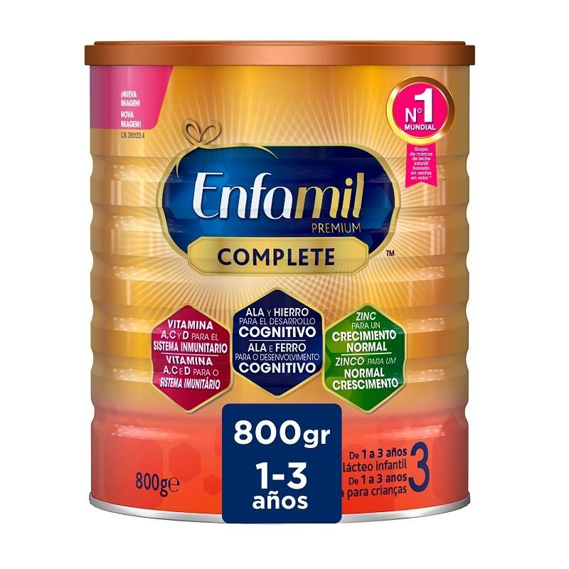 Enfamil 3 Premium Complete Leche Infantil 800gr