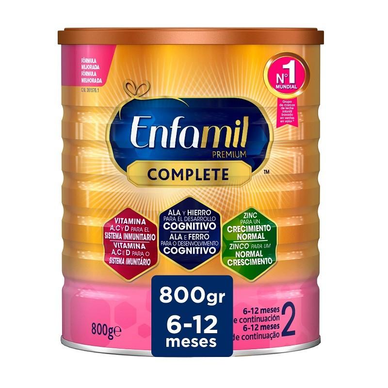 Enfamil 2 Premium Complete Leche Infantil de Continuación 800gr