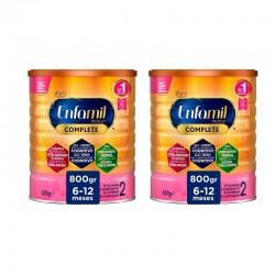 PACK Enfamil 2 Premium Complete Leche Infantil 2x800gr