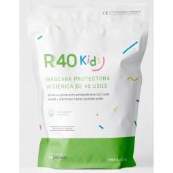Mascarilla para Niños Reutilizable y Lavable 100% Algodón Ecológico 3-6 años