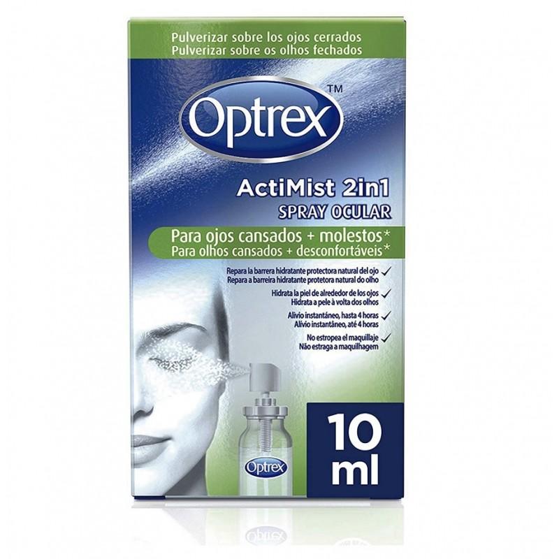 OPTREX ActiMist Spray Ocular 2 en 1 Ojos Cansados y Molestos 10ml