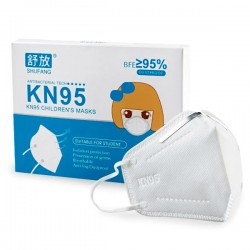 10x Mascarillas para Niños FFP2 KN95 con 4 Capas 10 unidades SHUFANG